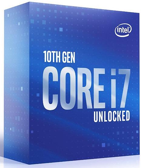 Intel Octa Core i7 10700K Comet Lake CPU/Processor