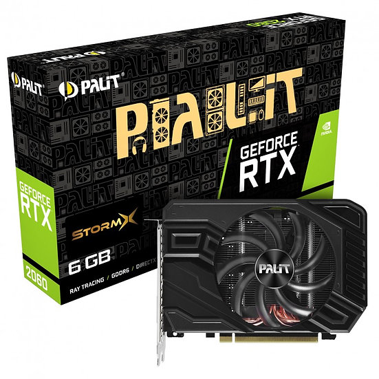 Palit NVIDIA GeForce RTX 2060 6GB StormX Turing Graphics Card
