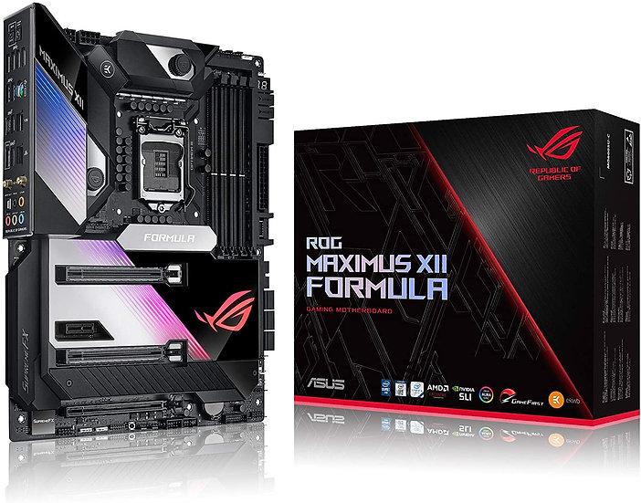 Asus ROG MAXIMUS XII FORMULA, Intel Z490, 1200, ATX, 4 DDR4, XFire/SLI, AX Wi-Fi