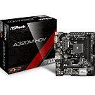 ASRock A320M-HDV R4.0 AMD Socket AM4 Ryzen Micro ATX DDR4 D-Sub/DVI-D/HDMI Ultra