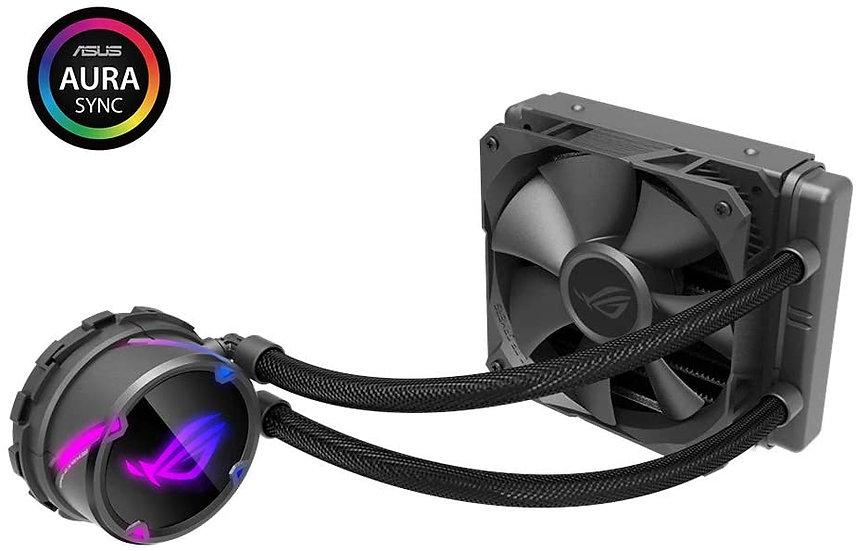 Asus ROG STRIX LC120 120mm Liquid CPU Cooler, 1 x 12cm PWM Fan, RGB