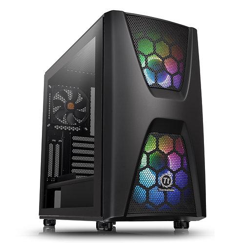 Thermaltake Commander C34 TG ARGB Edition Series Mid Tower 2 x USB 3.0 Tempered