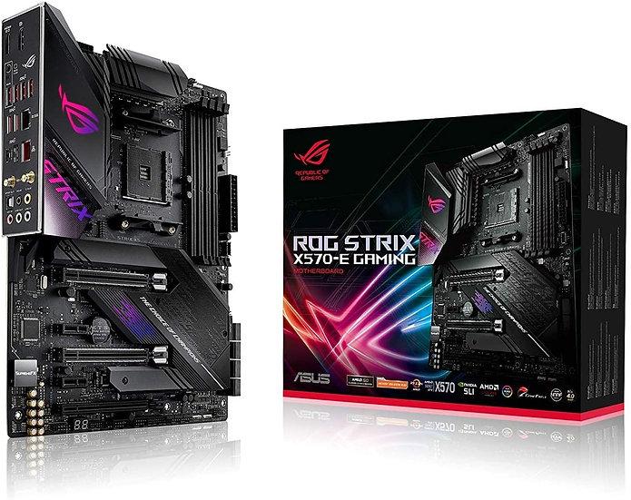 Asus ROG STRIX X570-E GAMING, AMD X570, AM4, ATX, 4 DDR4, HDMI, DP, SLI/XFire, W
