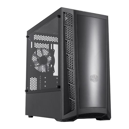 Cooler Master MasterBox MB320L Micro Tower2 x USB3.2 Gen 1 Edge-to-Edge Tempered