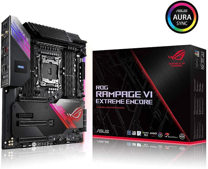 Asus ROG RAMPAGE VI EXTREME ENCORE, Intel X299, 2066, EATX, 8 DDR4, SLI/XFire
