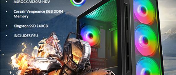 CTG30 AMD RYZEN 3 3200G with 8GB RAM + 240GB SSD - PRE-BUILT SYSTEM