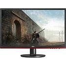 """AOC G2460VQ6 24"""" LED Widescreen VGA DVI HDMI TN Freesync 1ms Gaming Black/Red"""