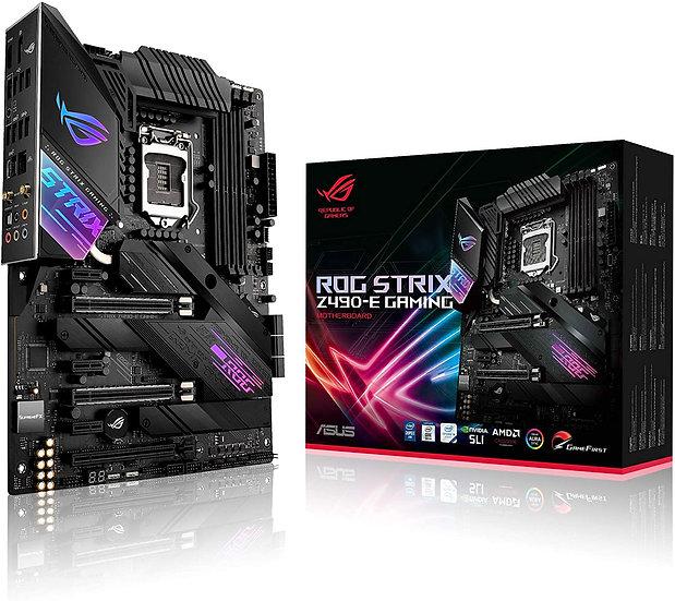 Asus ROG STRIX Z490-E GAMING, Intel Z490, 1200, ATX, 4 DDR4, XFire/SLI, HDMI, DP