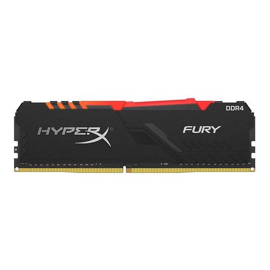 Kingston HyperX Fury RGB 16GB Black Heatsink (1x16GB) DDR4 3200MHz DIMM System
