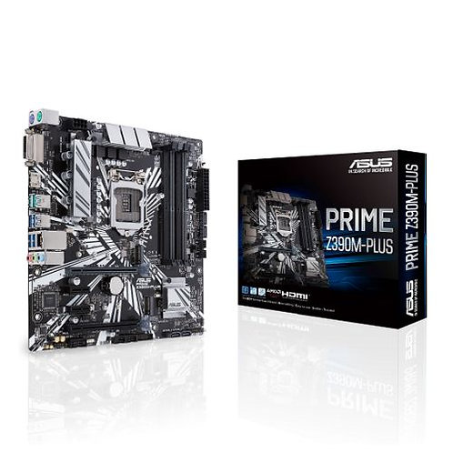 Asus PRIME Z390M-PLUS, Intel Z390 Motherboard