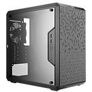 Cooler Master MasterBox Q500L Mid Tower 2 x USB 3.0 Side Window Panel Black Case