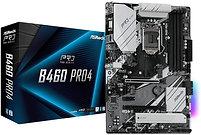 Asrock B460 PRO4, Intel B460, 1200, ATX, 4 DDR4, XFire, VGA, HDMI, M.2