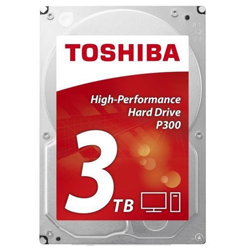 "Toshiba P300 HDWD130UZSVA 3TB 3.5"" 7200RPM 64MB Cache SATA III Internal HDD"