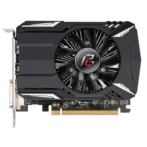 Asrock Phantom Gaming Radeon RX560, 4GB DDR3, PCIe3, DVI, HDMI, DP, 1223MHz Cloc