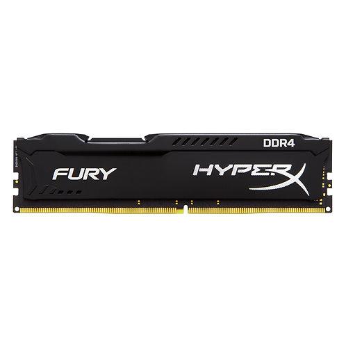 Kingston HyperX 8GB FURY Black Heatsink (1 x 8GB) DDR4 2400MHz DIMM System Memor