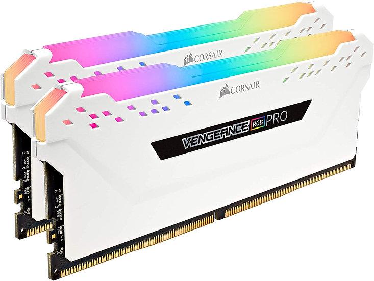 Corsair Vengeance RGB Pro 16GB Memory Kit (2 x 8GB), DDR4, 3200MHz (PC4-25600),
