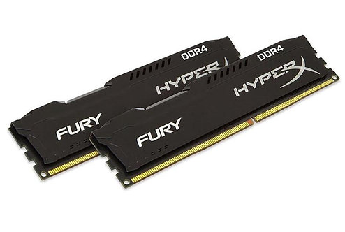 HyperX FURY Black 16GB (2x 8GB) 2400MHz DDR4 RAM