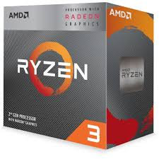 AMD Ryzen 3 3200G CPU with Wraith Cooler, Quad-Core, AM4, 3.6GHz (4.0 Turbo)