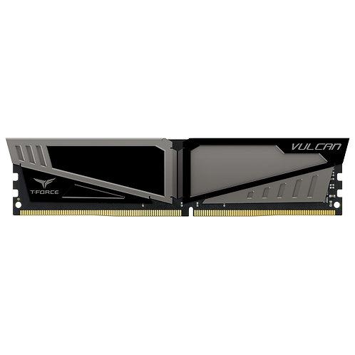 Team Vulcan 8GB Silver Heatsink (1 x 8GB) DDR4 2400MHz DIMM System Memory