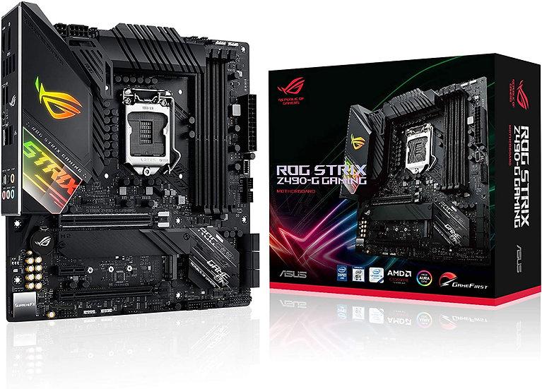 Asus ROG STRIX Z490-G GAMING, Intel Z490, 1200, Micro ATX, 4 DDR4, XFire, HDMI,