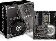 Asrock X399 TAICHI, AMD X399, TR4, ATX, 8 DDR4, XFire/SLI, Wi-Fi, Dual GB LAN,