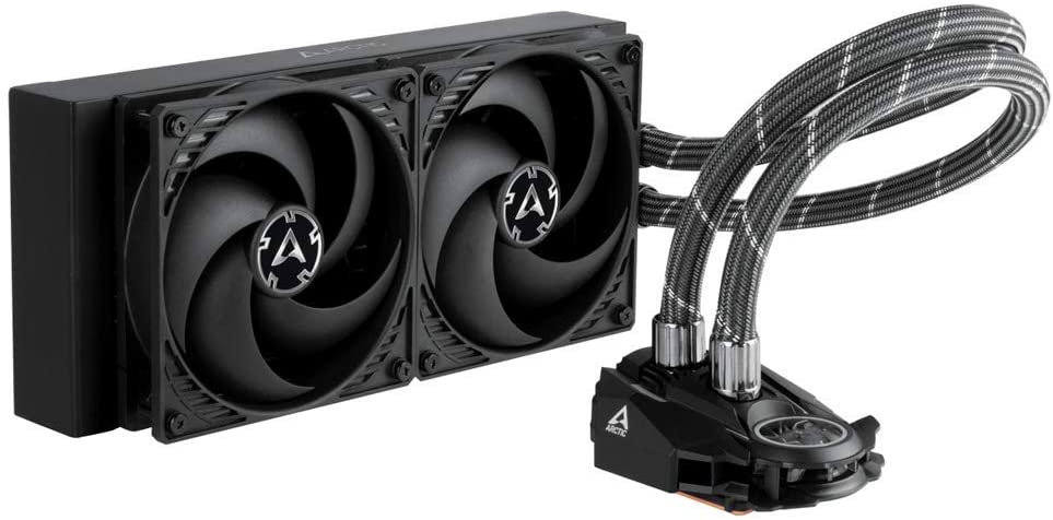 Arctic Liquid Freezer II 240mm Liquid CPU Cooler, PWM Fans & PWM Controlled Pump