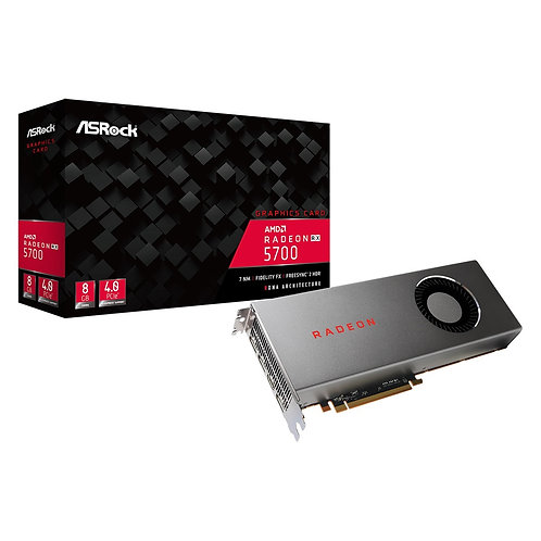ASRock AMD Radeon RX 5700 8GB DDR6 Single Fan Graphics Card
