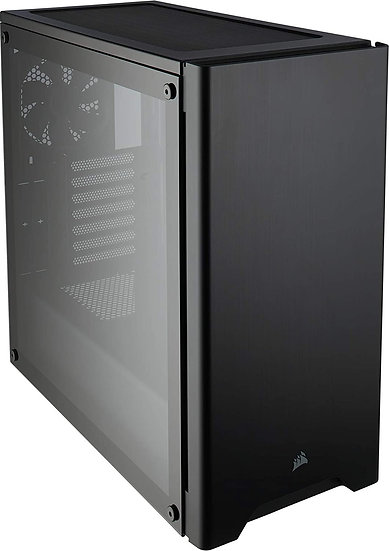 Corsair Carbide Series 275R Gaming Case with Tempered Glass Window, ATX, 2 x 12c