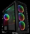 GameMax Kamikaze PRO ARGB 3pin Fans x4 TG Side Window Fan Control