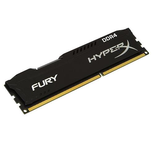 Kingston HyperX 4GB FURY Black Heatsink (1 x 4GB) DDR4 2400MHz DIMM System Memor