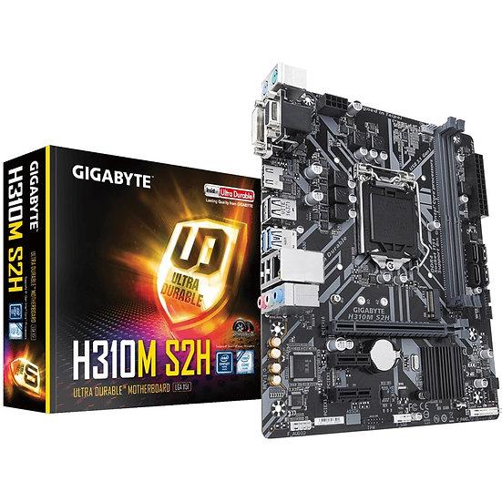 Gigabyte H310M S2H Intel Socket 1151 Coffee Lake Micro ATX DDR4 D-Sub/DVI-D/HDMI