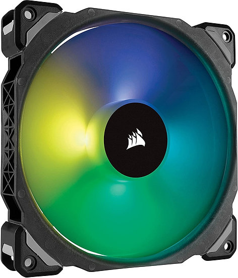 Corsair ML140 Pro 14cm PWM RGB Case Fan, Magnetic Levitation Bearing