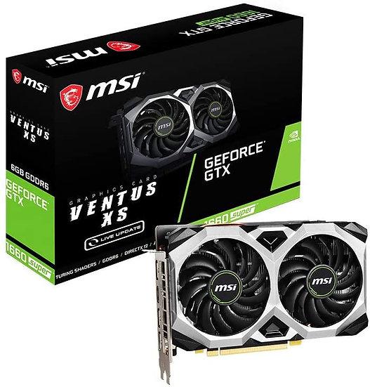 MSI Nvidia GeForce GTX 1660 SUPER Ventus XS OC 6GB Dual Fan Graphics Card
