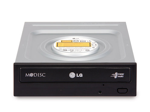 LG GH24NS95 24x DVD RW M-DISC Support, SATA Black