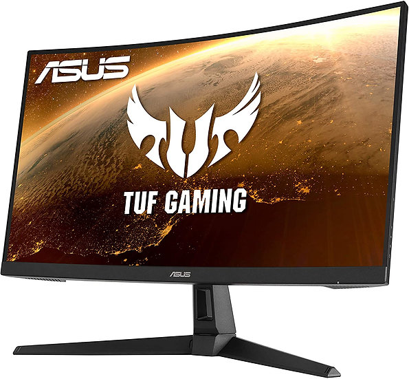 "Asus 27"" TUF WQHD Curved Gaming Monitor (VG27WQ1B), 2560 x 1440, 1ms, 2 HDMI, DP"