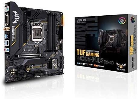 Asus TUF GAMING B460M-PLUS (WI-FI), Intel B460, 1200, Micro ATX, 4 DDR4, XFire,