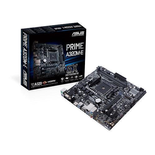 Asus PRIME A320M-E, AMD A320, AM4, Micro ATX, 2 DDR4