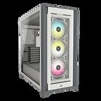 Corsair iCUE 5000X RGB Gaming Case w/ 4x Tempered Glass Panels, E-ATX, 3 x AirGu