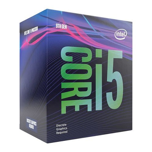 Intel Core i5-9400F CPU, 1151, 2.9 GHz (4.1 Turbo), 6-Core, 65W, 14nm, 9MB Cache