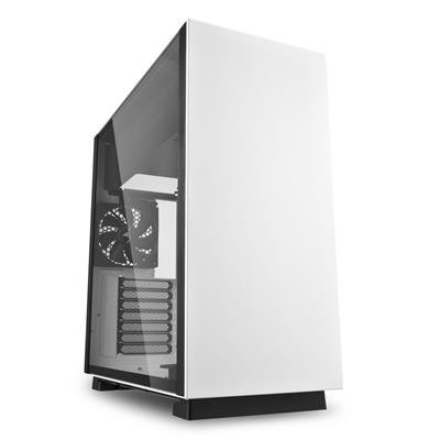 Sharkoon Pure Steel White Mid Tower Case (M-ITX/M-ATX/ATX/E-ATX/CEB/EEB)