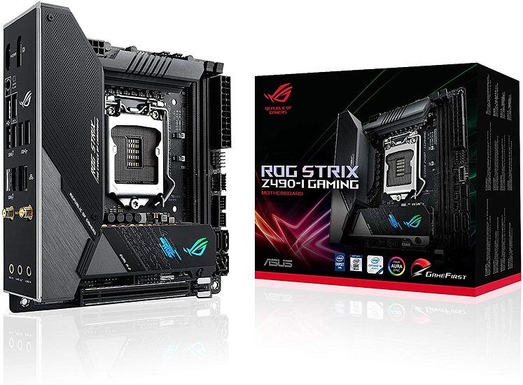 Asus ROG STRIX Z490-I GAMING, Intel Z490, 1200, Mini ITX, 2 DDR4, HDMI, DP, AX W