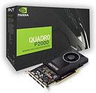 PNY Quadro P2000 Professional Graphics Card, 5GB DDR5, 4 DP 1.4 (4 x DVI adapter