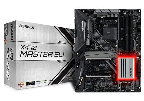Asrock X470 MASTER SLI, AMD X470, AM4, ATX, DDR4