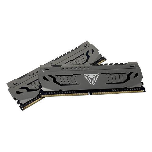 Patriot Viper Steel Series DDR4 32GB (2 x 16GB) 3000MHz Kit w/Gunmetal Grey heat