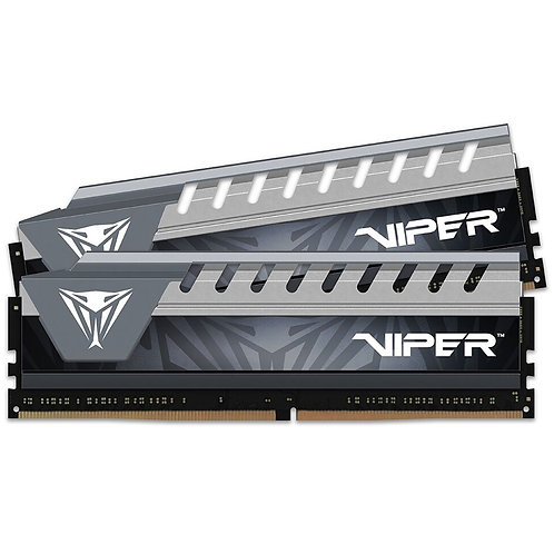 Patriot Viper Elite Series 16GB Black & Grey Heatsink (2 x 8GB) DDR4 2666MHz DIM