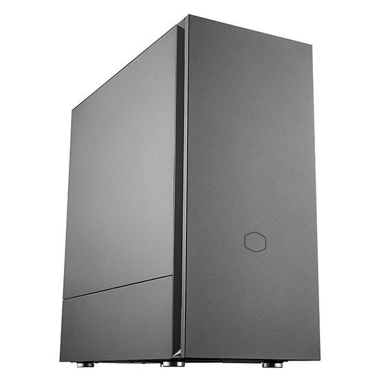 Cooler Master Silencio S600 Mid Tower 2 x USB 3.2 Gen 1 Sound-Dampened Steel