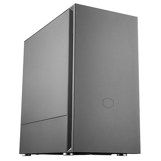 Cooler Master Silencio S400 Micro Tower 2 x USB 3.2 Gen 1 Sound-Dampened Steel