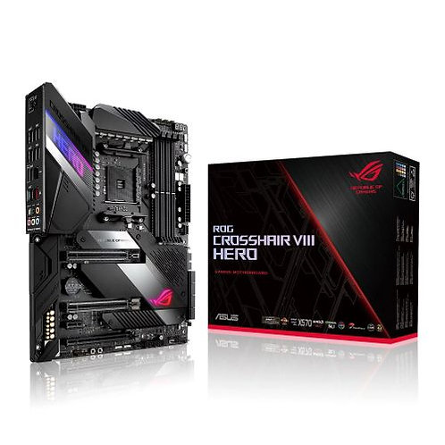 Asus ROG CROSSHAIR VIII HERO, AMD X570 Motherboard