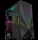 GameMax Venus 1x ARGB Strip 1x ARGB Fan 3pin Aura Sync Hub Remote TG Side Window