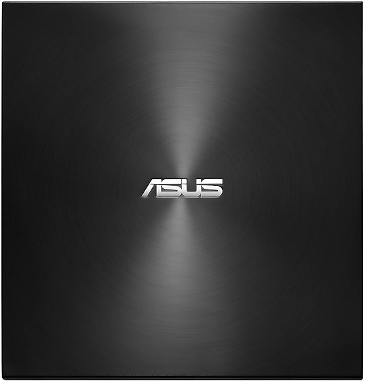 Asus (ZenDrive U9M) External Slimline DVD Re-Writer, USB-A / USB-C, 8x, Black